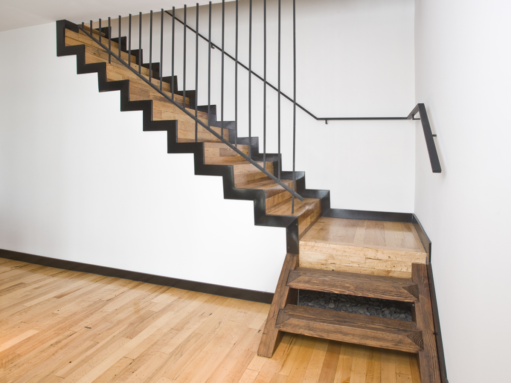 The Problem of Stairs while Moving