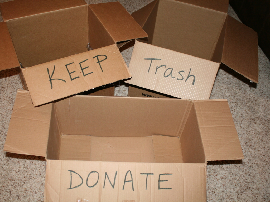 Tips for Reducing Waste During a Move